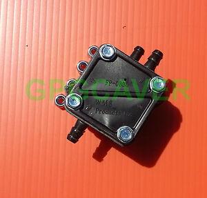 Small engine pulse fuel pump