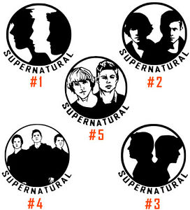 SUPERNATURAL WINCHESTER BROTHERS ANTI POSSESSION SYMBOL VINYL STICKER