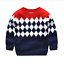 Kids Boys Autumn Winter Fleece Cotton Warm Pullover Sweater