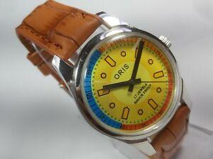 Vintage-Mechanical-Hand-Winding-Movement-Mens-Analog-Wrist-Watch-C8