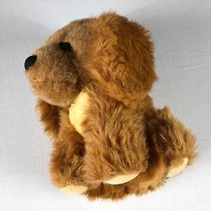Sparky-Dog-Plush-VTG-1982-Here-Comes-Grandma-Puppy-11-034-Stuffed-Puppy-Big-Head