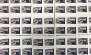 Lot Of 5 Books USPS Postage Forever Stamps - $55 Value