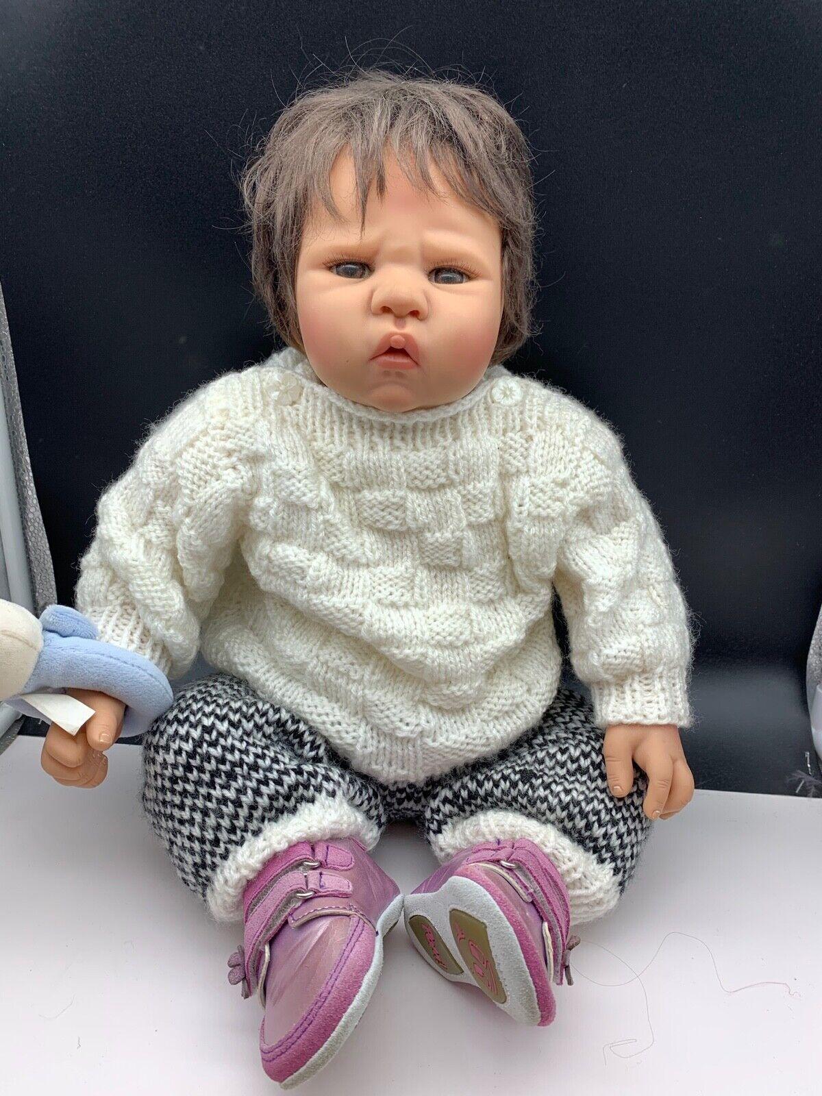 Artista Bambola vinile bambola 54 CM. OTTIMO stato