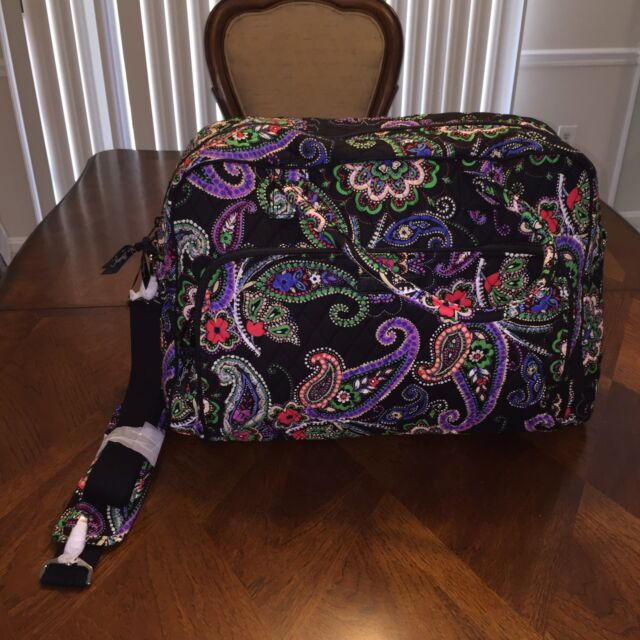 Vera Bradley Weekender Travel Bag in Kiev Paisley 15719 646 BC for ... 034807d40aad6