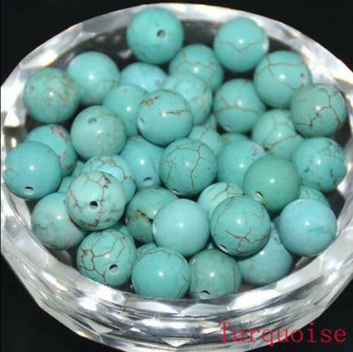 Wholesale Lot Pierre Naturelle Gemme Ronde Spacer Loose Beads 6 mm 8 mm 10 mm