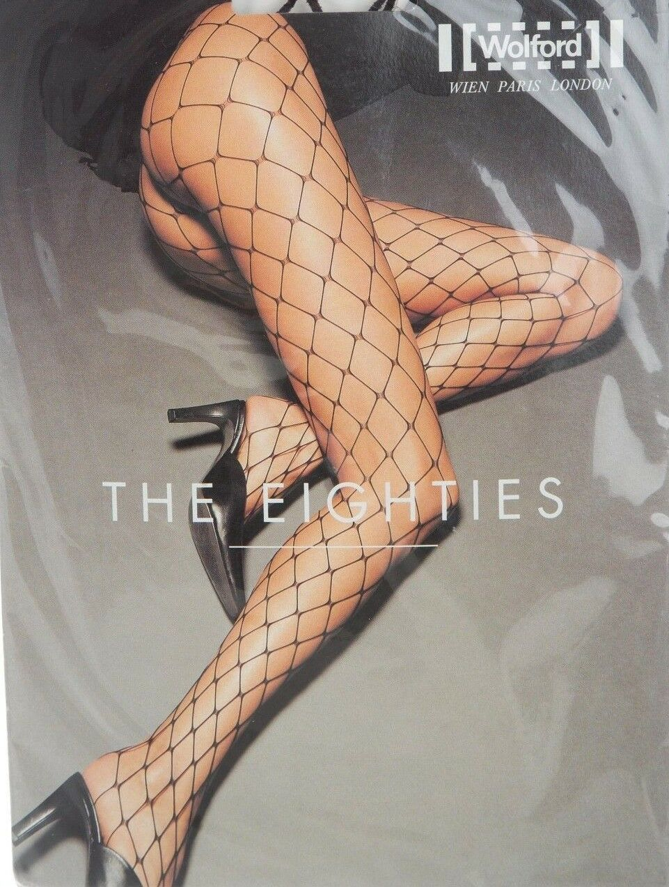 Wolford The Eighties Fishnet Tights color  Honey Size  Medium 11890 - 12