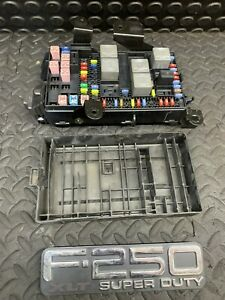 2005-2007-Ford-F250-F350SD-Interior-Fuse-Relay-Box-5C3T-14A067-BE
