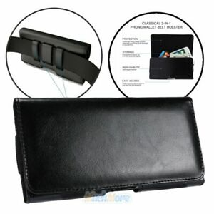 Premium-Black-Leather-Holster-Pouch-Case-Cover-Belt-Clip-For-iPhone-11-Pro-Max