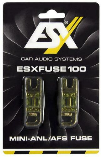 ESX Fuse 100 mini-copia de seguridad centajes 100a 1 pares