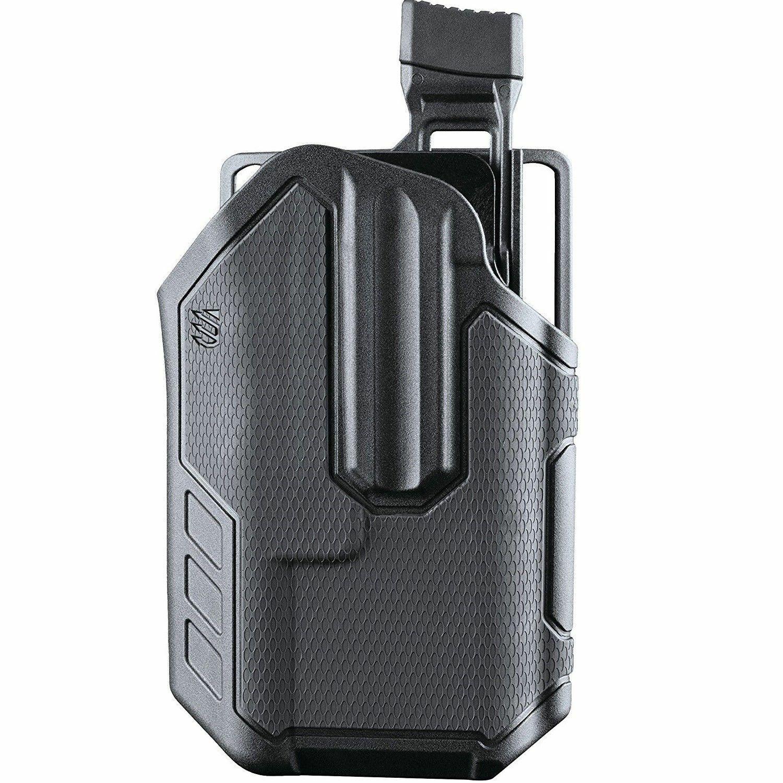 "New FMA BLACKHAWK BW 1/"" torch set of belt Holster For 1/"" Flashlight BK F538"
