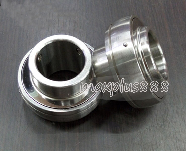 1pc New SUC206 Stainless Steel Insert Ball Bearing id 30mm