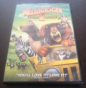 Dreamworks Madagascar Escape 2 Africa Dvd Full Screen 97361408149 Ebay