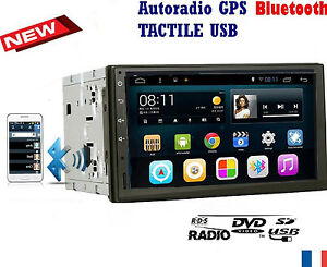 autoradio gps 2 din bluetooth universel peugeot 307 207 cc citroen c2 c3 ebay. Black Bedroom Furniture Sets. Home Design Ideas