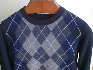Pullover-PRINGLE-OF-SCOTLAND-Made-in-Italy-BLACK-100-CACHEMIRE-FITS-S-M-46-48