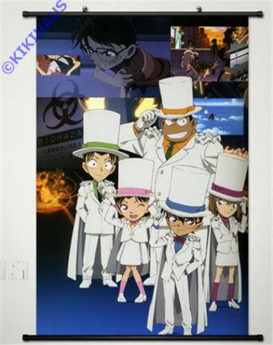 Neu Detektiv Conan Anime Manga Wallscroll Stoffposter 60x90cm 025