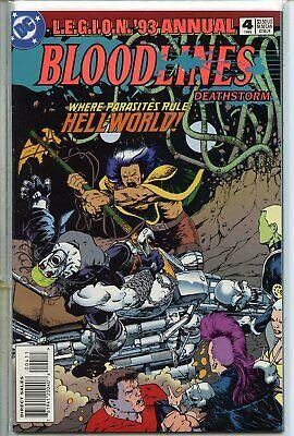 Legion 1989 series annual # 2 near mint comic book