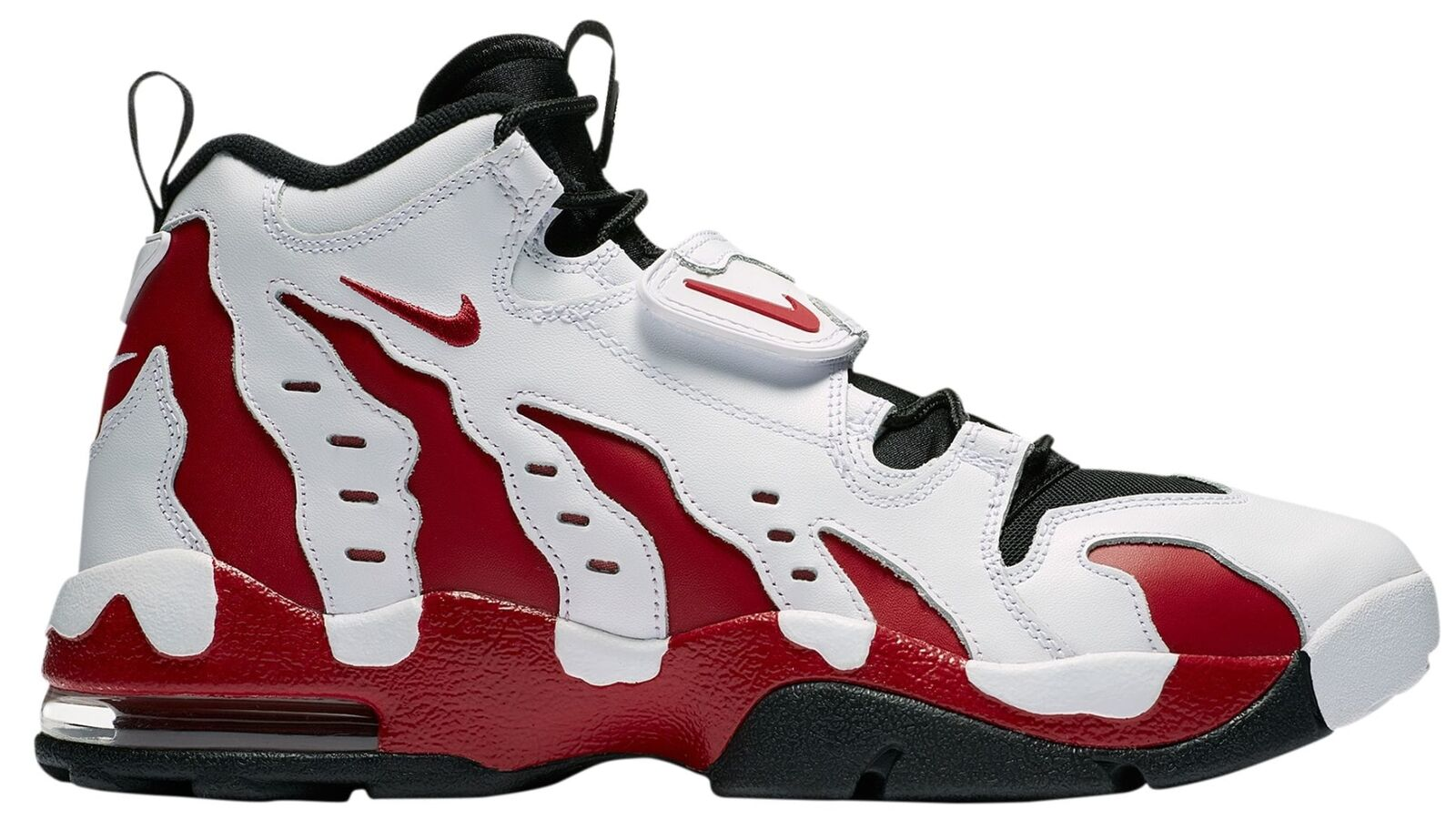Nike Air DT Max '96 Falcons Mens 316408-161 White Red Black Deion Shoes Size 9.5
