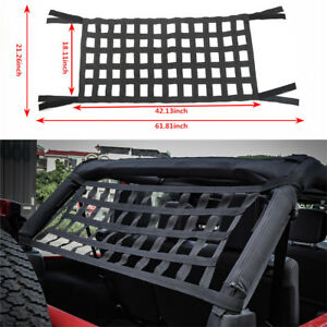 Car Roof Top Soft Cover Rest Bed Hammock For Jeep Wrangler Jk 07-18 Automobiles & Motorcycles Sunroof, Convertible & Hardtop