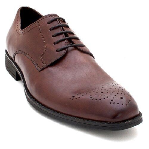 Nuevo Robert Wayne Vesper Oxford Derby De Cuero Oxford Vesper Zapatos Elegir Colores-Tamaños d1c7a7