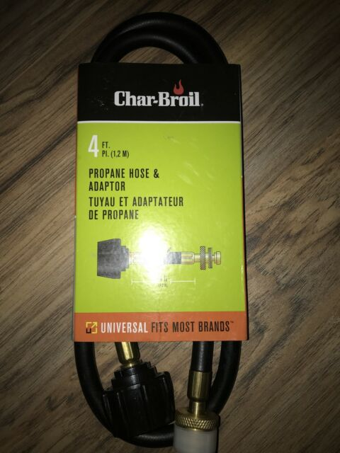 Char-Broil 7484633p04 Universal 4 Foot Hose and Adapter for sale online