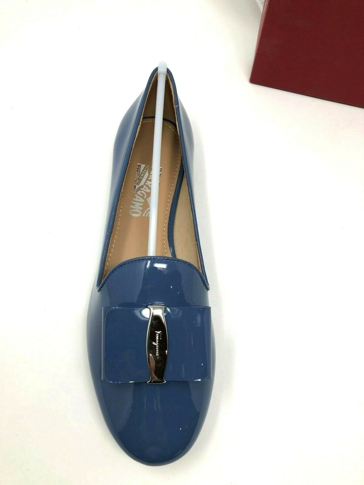 New Salvatore Salvatore Salvatore Ferragamo Elisabel Womens bluee Flats  Ladies shoes size 6 6.5 8.5 6fa7d7