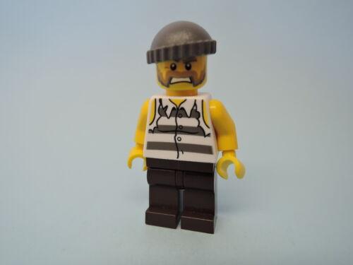 Lego Figur City Polizei Gefangener Dieb cty266  4437 4440