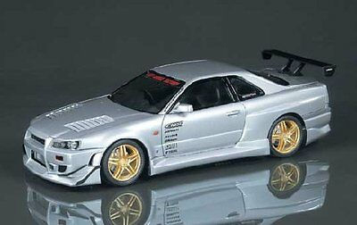 Aoshima 41017 1/24 NISSAN SKYLINE R34 GT-R C-WEST Ver. Limited from Japan Rare