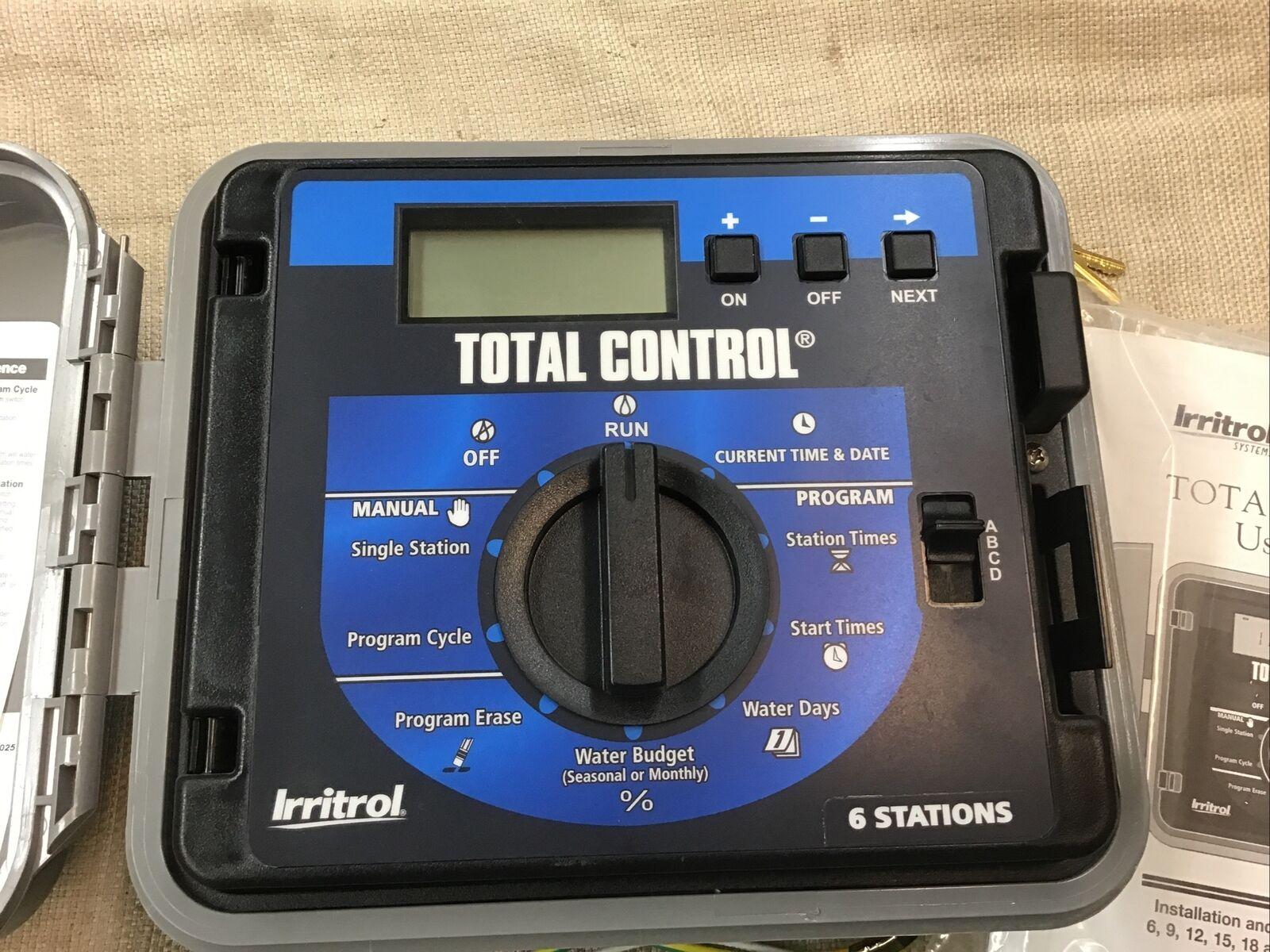 NEW - Irritrol Total Control TC-6EX-R 6 Station EXT / INT sys (b138)