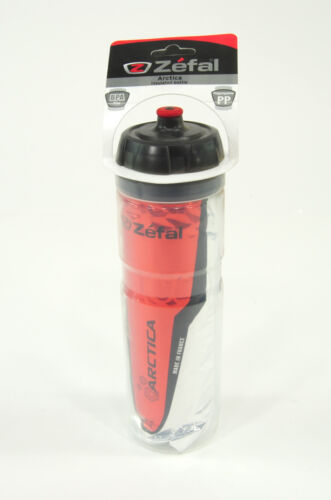 Red Zefal 165 Arctica 25oz Insulated Bicycle Water Bottle