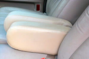Tremendous Details About Seat Armrest Real Leather Cover For Mercury Grand Marquis 03 11 Beige Uwap Interior Chair Design Uwaporg