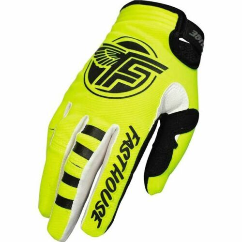 All Sizes Fasthouse Flight Motorcycle Glove Flo Yellow