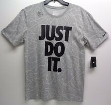 e3356a36 Nike Dri-FIT Just Do It Basketball T-Shirt, Size XL - Gray for sale ...