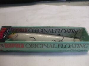 "Rapala F-11 Original Floating Silver Fishing Lure Bass 3/16 oz Balsa 4 3/8"""