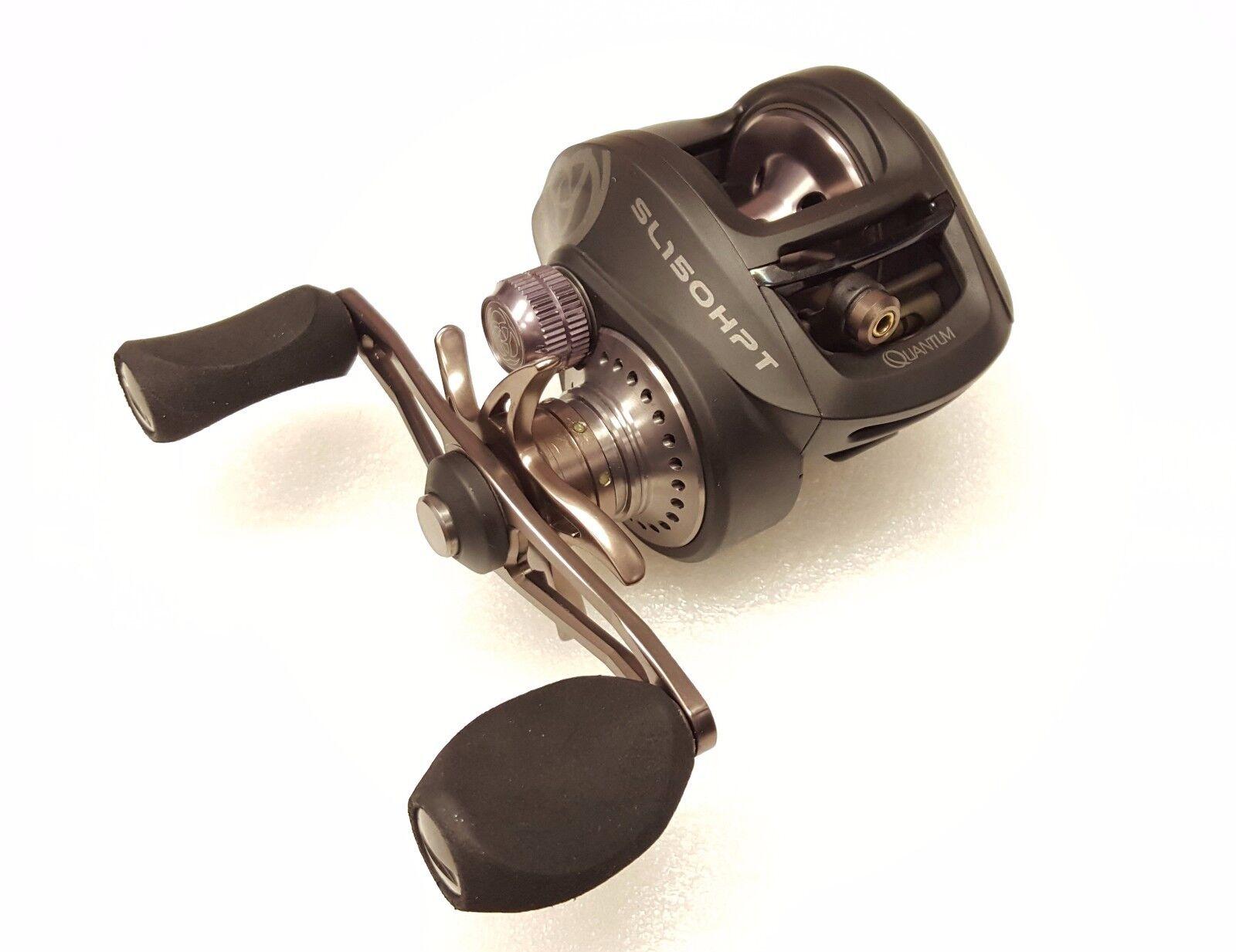 Quantum Smoke 150 HPT 7.3:1 Baitcast Right Hand Fishing Reel - SL150HPT