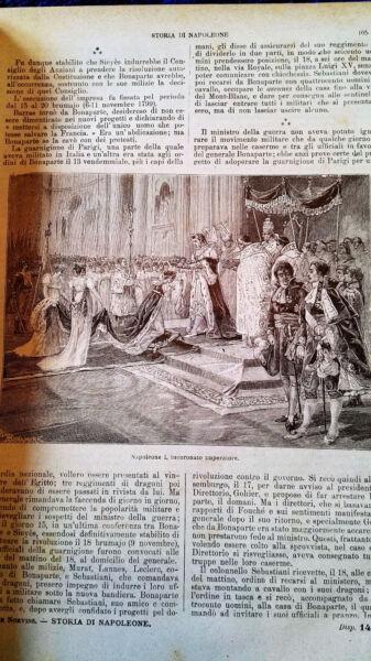 1904 Storia Di Napoleone-sonzogno