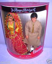 #3031 RARE NRFB Mattel LEO India Happy Holiday's Barbie & Ken Foreign Set