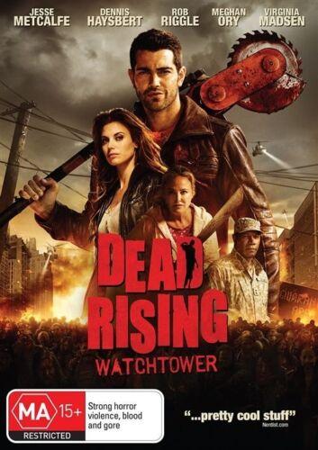 1 of 1 - Dead Rising: Watchtower MA Horror Thriller DVD Jesse Metcalfe Meghan Ory Virgini