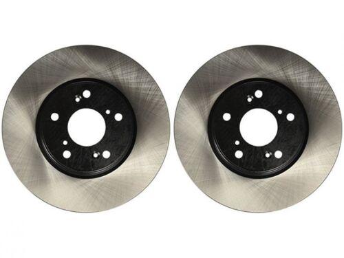 Front Stoptech Premium Casting Rotors 2013-2017 Crosstrek XV Rear 4 Rotors