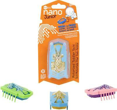 x1 Random Colour Age 18 Months+ HEXBUG Nano Junior Bug Motorised Toddler Tech