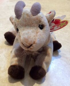 Ty Beanie Babies Goatee The Goat Retired Mint With Tags - Rare With ... 404898c4080c