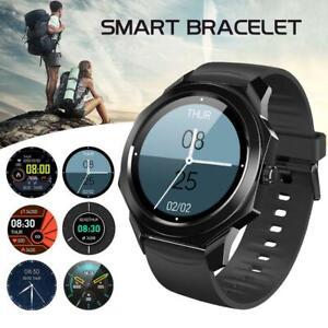 2021 Smartwatch IP68 Sportuhr Armband Blutdruck Fitness Tracker HUAWEI Samsung