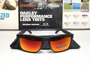f1f70109d8 Oakley Holbrook Matte Black w  Prizm Ruby lenses - SKU  9102-E255 ...