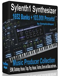1652-Banks-103-000-Presets-for-Sylenth-Logic-FL-Studio-Reason-Ableton-Cubase
