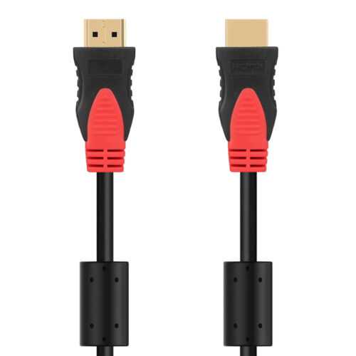 HDMI Cable Ultra HD 4K 1080p 3D High Speed Ethernet ARC HEC with 2xFerrite Cores