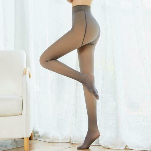 Flawless Legs Fake Translucent Warm Fleece Pantyhose Tights Stockings