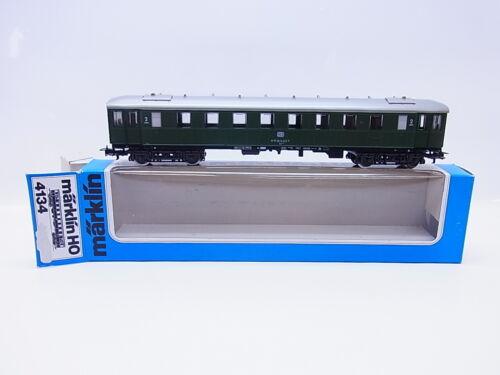 LOTE 59467Märklin H0 4134 expreso tren 2ª clase coche de DB en caja orig.