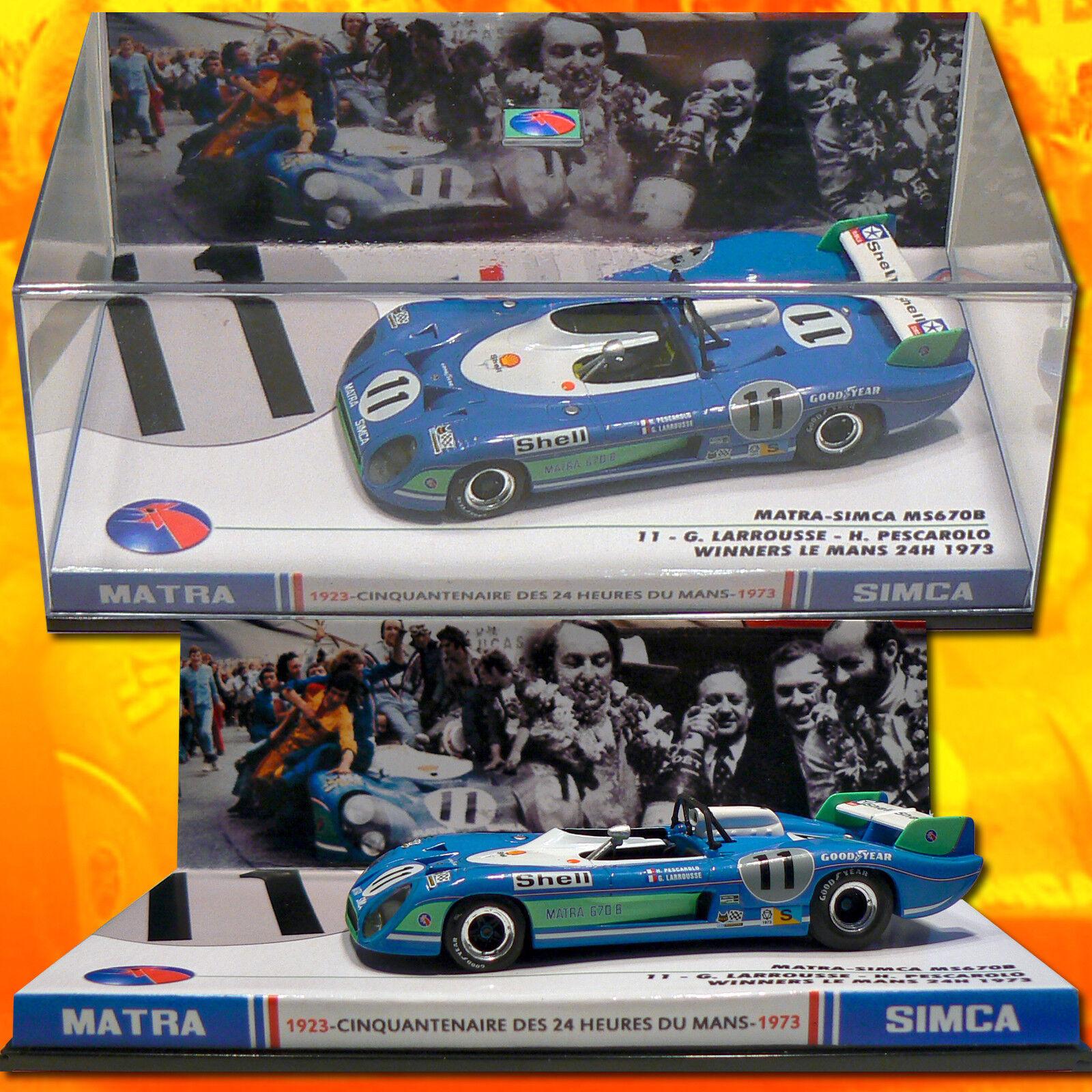 Nuevos productos de artículos novedosos. 217) Matra Matra Matra 670B  11 PesCocheolo-Larrousse Winner LM 1973.  vendiendo bien en todo el mundo