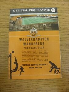 21-03-1959-Wolverhampton-Wanderers-v-West-Bromwich-Albion-Creased-Folded-Wor