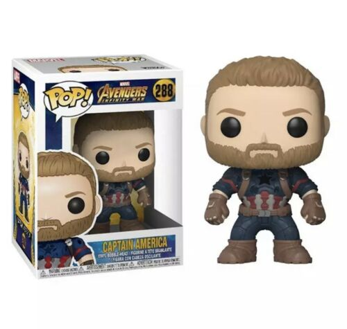 Marvel Cosplay Vinyl Figure Funko Pop Kids Toys Gift Box