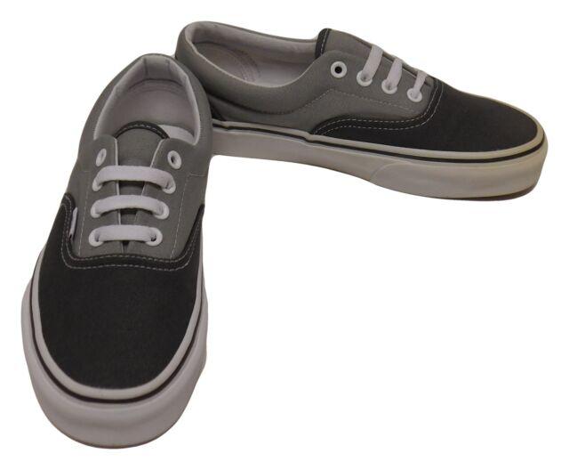 Buy VANS Men s Era Two Tone Skate Shoe Sneaker Charcoal Gray 4m ... f3196f6ed